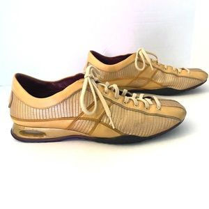 Cole Haan Nike Air Sneakers Gold size 8